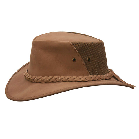 Conner Women's Down Under Leather Breezer Hat