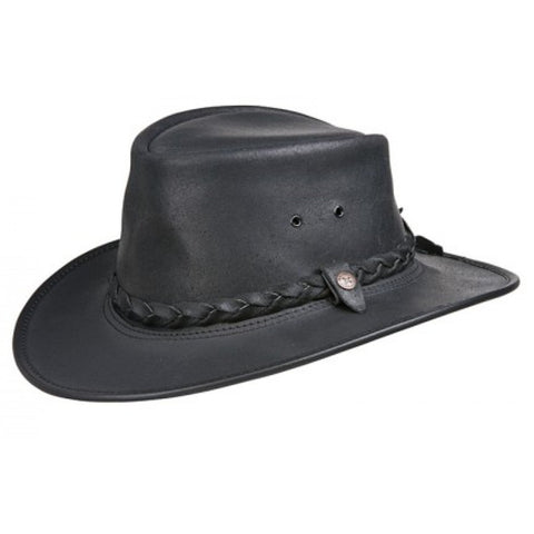 Conner Men's BC Hats Bac Pac Traveller Oily Australian Leather Hat