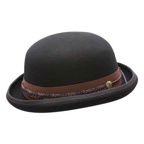 Conner Men's Carson City Wool Bowler Hat