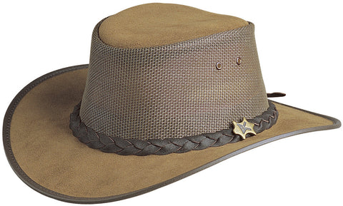 Conner Men's BC Hats Cool As A Breeze Australian Leather Hat