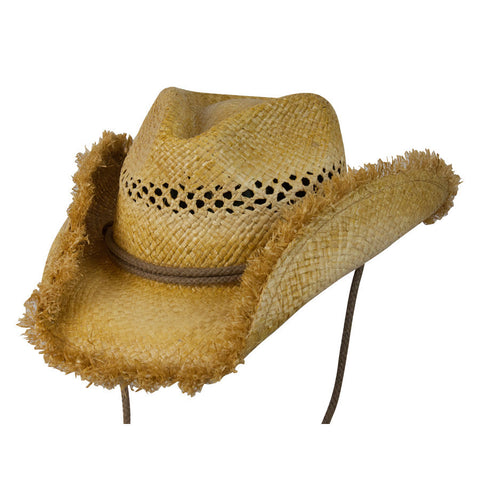 Conner Kiddy Corral Western Kids Raffia Hat