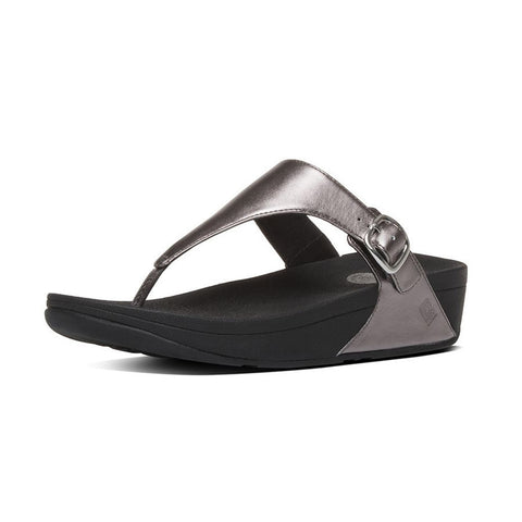 975f48d2dd7a Fitflop Women s The Skinny Embossed Leather Toe-Thong Sandals