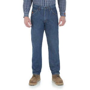 Wrangler Men's RIGGS Workwear Flame Resistant Relaxed Fit Jean