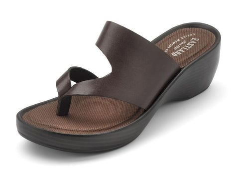 Eastland Women's Laurel Wedge Thong Sandal