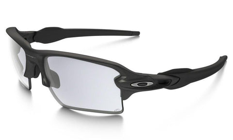 Steel - Clear Black Iridium Photochromic