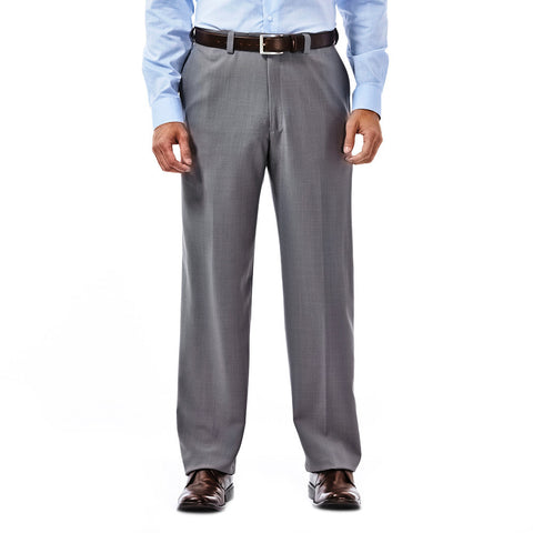 Haggar Men's E-CLO™ Stria Flat Front Dress Pant