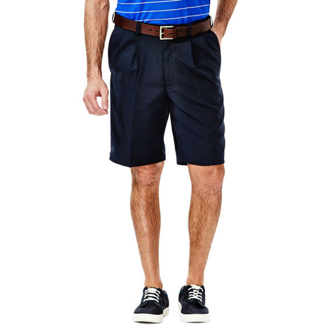 Haggar Men's Cool 18 Pleated Front Shorts