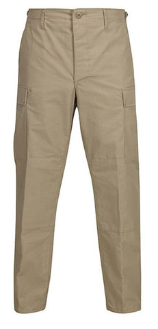 Propper Men's Battle Dress Uniform Trouser w/ Battle Rip 65% Polyester/35% Cotton Ripstop Fabric