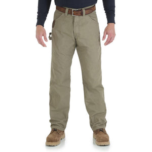 Wrangler Men's RIGGS Workwear Carpenter Jean (Bark)
