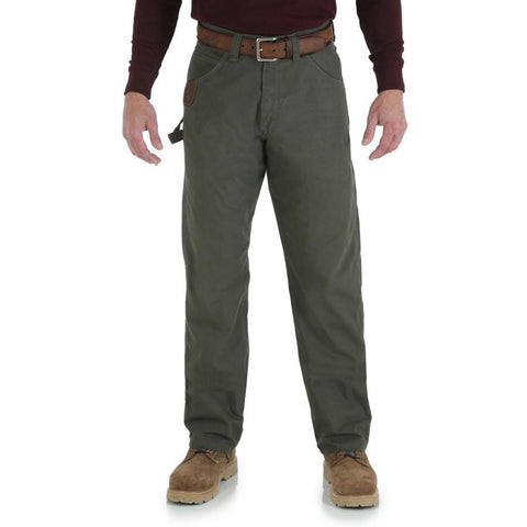 Wrangler Men's RIGGS Workwear Carpenter Jean (Loden)