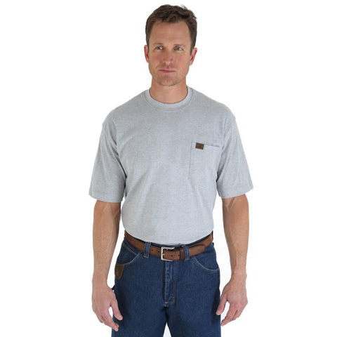Wrangler Men's RIGGS Workwear Short Sleeve Pocket T-Shirt