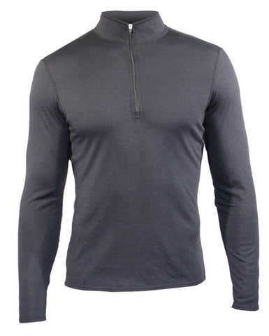 Hot Chillys Men's Skins Zip-T