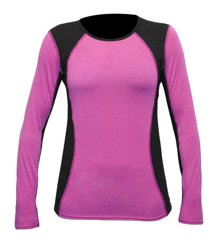 Hot Chillys Women's Wool Stretch Crewneck