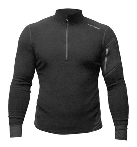 Hot Chillys Men's La Montana Zip-T