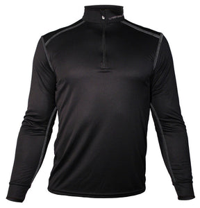 Hot Chillys Men's Micro-Elite Chamois Zip-T