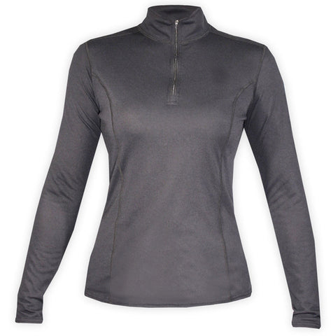 Hot Chillys Women's Skins Zip-T