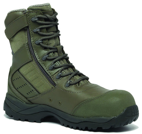 Belleville Tactical Research TR636ZCT Men's Maintainer Hot Weather Lightweight Side-Zip Composite Toe Boot