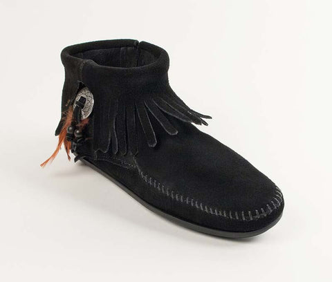 Minnetonka Women's Concho Feather Boot