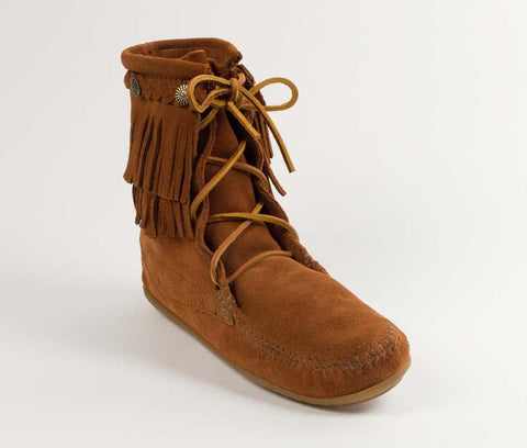 Minnetonka Women's Double Fringe Tramper Boot