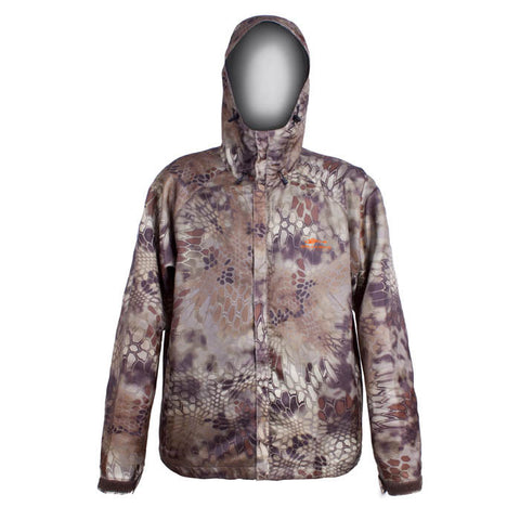 Grundens Unisex Gage Weather Watch Hooded Jacket Camo