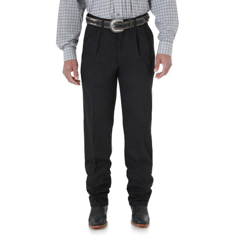 Wrangler Men's Riata Pleated Front Casuals Pant