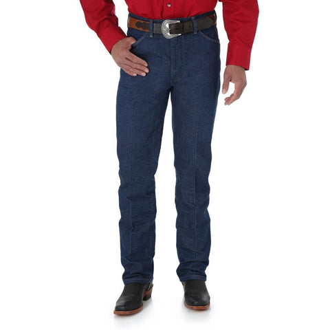 Wrangler Men's Cowboy Cut Slim Fit (Rigid)