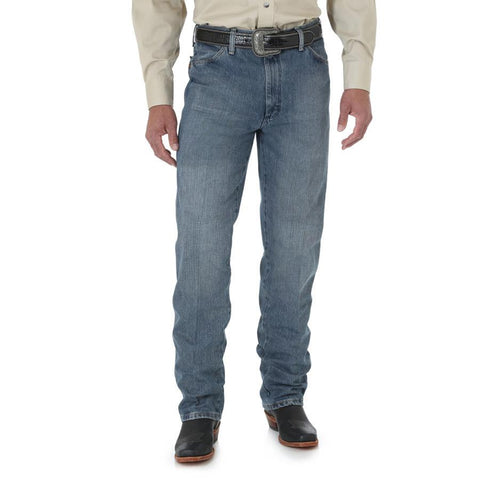 Wrangler Men's Cowboy Cut Slim Fit (Rough Stone)