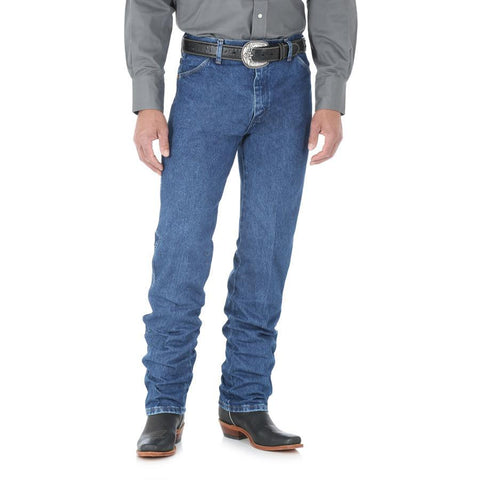 Wrangler Men's Cowboy Cut Original Fit Jean (Stonewashed)