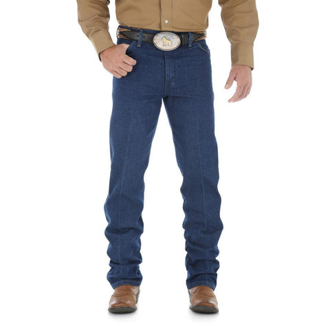 Wrangler Men's Cowboy Cut Original Fit Jean (Prewashed)