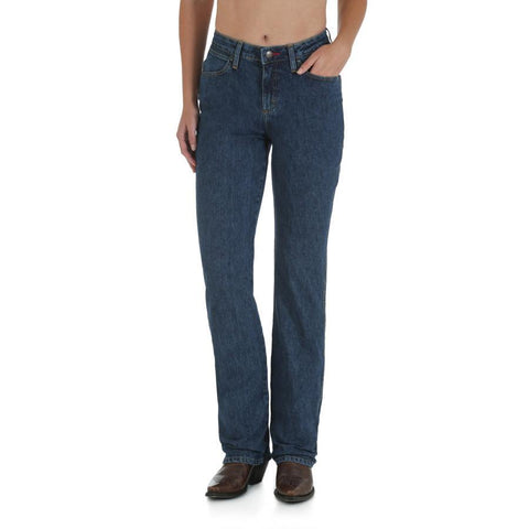 Wrangler Women's Cowboy Cut Natural Rise Jean