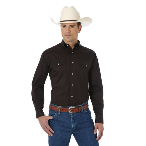 Wrangler Men's Painted Desert Basic Western Shirt