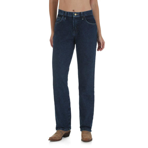 Wrangler Women's Blues Relaxed Fit Jean