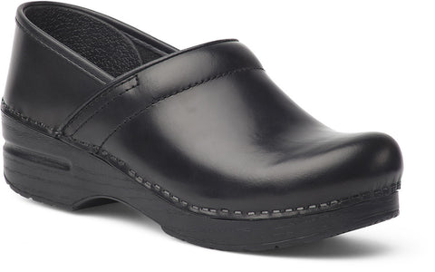 Dansko Men's Wide Pro Cabrio Leather Clogs