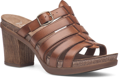 Dansko Women's Dina Full Grain Leather Sandal