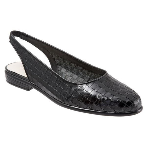Trotters Women's Lucy Shoe (Wide), Black