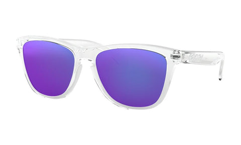 7f3554cc6a6f7 Polished Clear - Violet Iridium. Oakley Men s ...