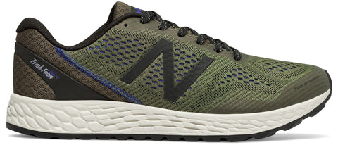 New Balance Men's Fresh Foam Gobi Trail Running Shoe - Triumph Green/Black & Pacific