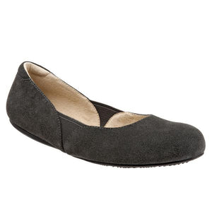 Softwalk Women's Norwich Flat, Graphite