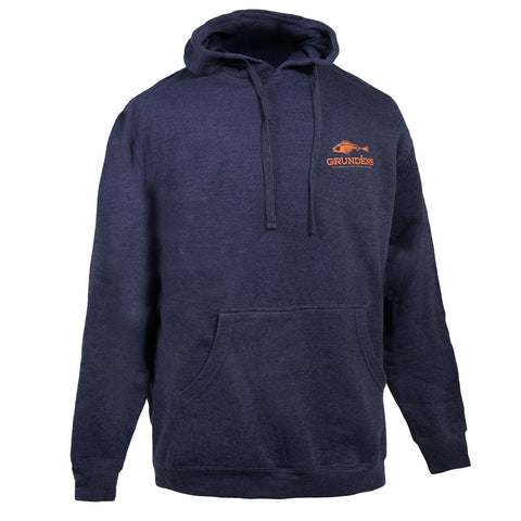 Grundens Men's Outdoor Hoodie, Navy