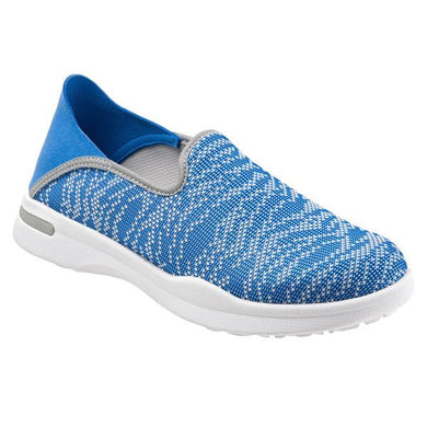 Softwalk Women's Simba Sneaker, Blue