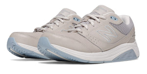 New Balance Women's Leather 928v2 Walking Shoe (D) Grey