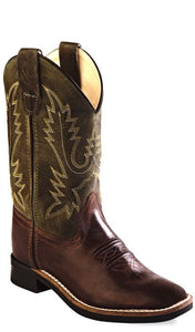 Old West BSY1877 Youth Western Boot