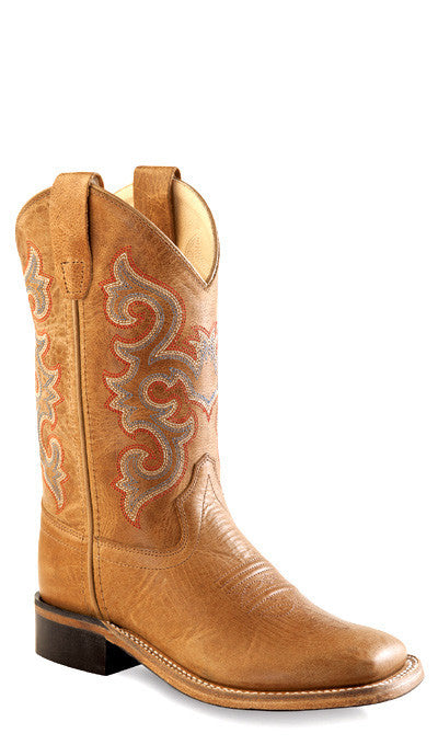 Old West BSY1818 Youth Western Boot