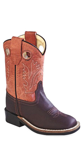 Old West BSI1859 Toddlers Western Boot