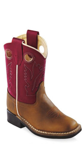 Old West BSI1883 Toddlers Western Boot