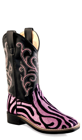 Old West VB9129 Kids Western Boot