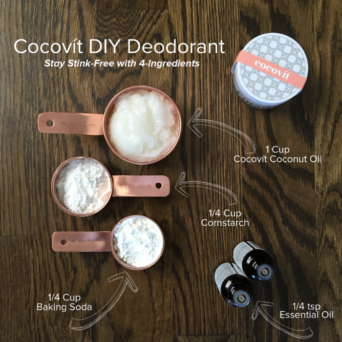 Cocovít Do-It-Yourself Deodorant