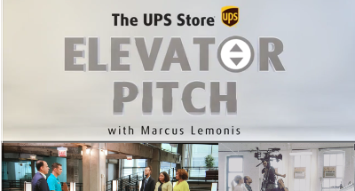 The UPS Store ELEVATOR PITCH featuring CNBS's Marcus Lemonis