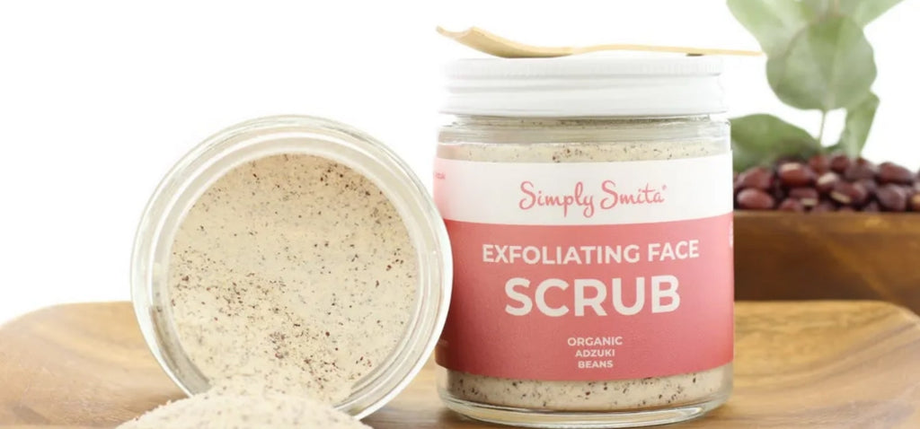 Simply Smita - Adzuki Face Scrub | Natural Me Beauty™