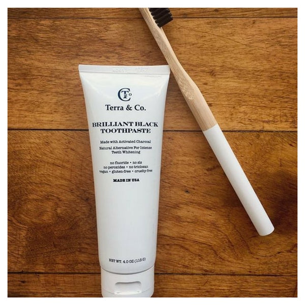 Shop Terra & Co. Brilliant Black Toothpaste
